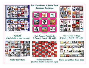 Consumer Decisions 6 Board Game Bundle