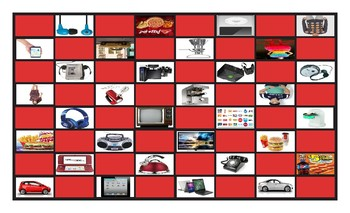 Consumer Decisions Legal Size Photo Checkerboard Game