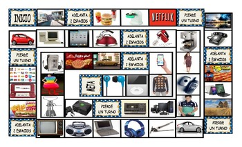Consumer Decisions Spanish Legal Size Photo Board Game