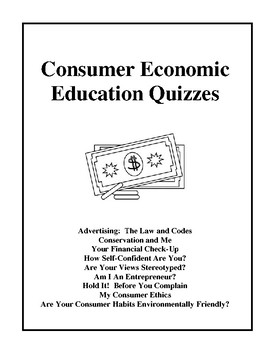 Consumer Economic Education Quizzes