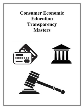 Consumer Economic Education Transparency Masters