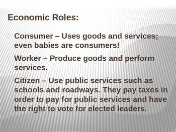 Consumer Education Powerpoint