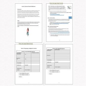Economics & Business Assessment Tasks - Financial Literacy (Australian Curric.)