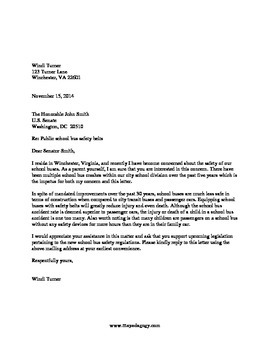 Consumer Letters Complaint Product Review Elected Official