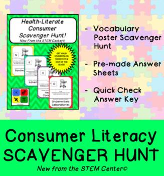 Consumer Literacy Scavenger Hunt