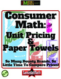 Unit Pricing and Consumer Math: Paper Towels
