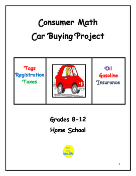 Consumer Math Car Buying Project