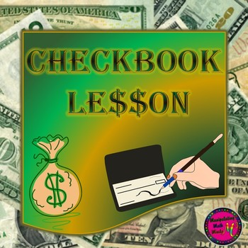 Consumer Math Checkbook Unit - Great financial literacy unit