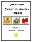 Consumer Math: Comparison Grocery Shopping