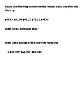 Consumer Math Final Quiz