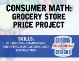 Consumer Math: Grocery Store Price Project
