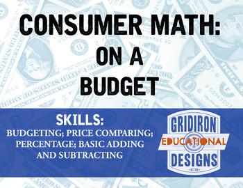 Consumer Math: On a Budget