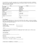 Consumer Math Project: Tax, Tip, Discount, Markup, Unit Rates