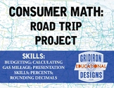 Consumer Math: Road Trip Project