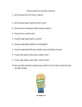 Consumer Math What is my Job?