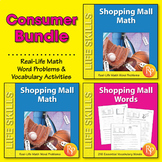 Consumer Math Word Problems & Vocabulary {Bundle}