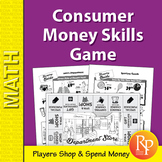 Consumer Money Skills: Department Store Math Game
