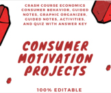 Consumer Motivation Complete Unit incl Guided Notes, Activ