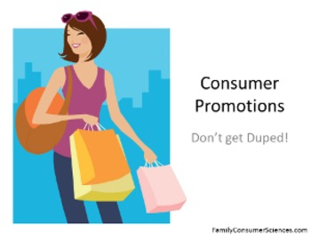 Consumer Promotions Lesson