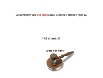 Consumer & Property Rights power point (Virginia Civics SOL CE.13e)