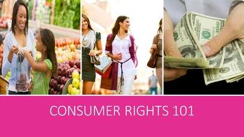 Consumer Rights 101 Lesson