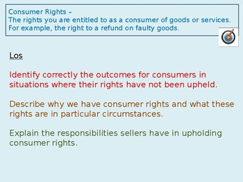 Consumer Rights and Law