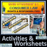 Consumer Rights and Responsibilities Booklet of Student Activities & Worksheets