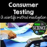 Consumer Testing: A Scientific Method Investigation