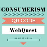 Consumerism (Consumer Protection Agencies & Laws) QR Code WebQuest