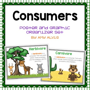 Consumers Posters and Interactive Notebook Set