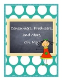 Consumers, Producers and More, Oh My! Economics for First Graders