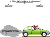 Consumers and Producers- Economics Tree Map