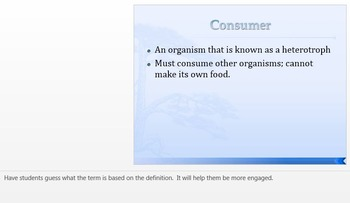 Consumers,Producers,and Decomposers:Easy, Interactive Notes with student handout
