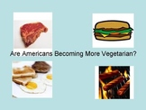 Are Americans Becoming More Vegetearian?