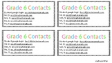 Contact Cards