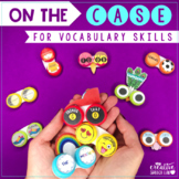 Contact Lens Case Vocabulary Activities