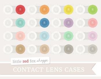 Contact Lense Case Clipart; Bathroom