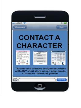 Contact a Character (Today's Technology)