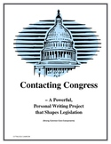 Contacting Congress - A Powerful, Personal Writing Project