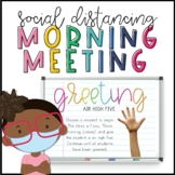 Contactless Morning Meeting Greetings & Activities - The E