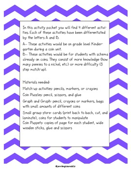 Contagious Coin Differentiated Activity Packet