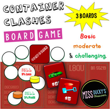 Container Clashes Percentage Change Board Game