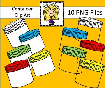 Container Clip Art by Emily Education