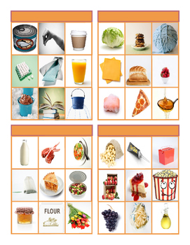 Container Words Tic-Tac-Toe or Bingo Game