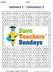 Containers in Spanish Worksheets, Games, Activities and Flash Cards (2)