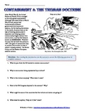 Containment and Truman Doctrine Cartoon Analysis Worksheet