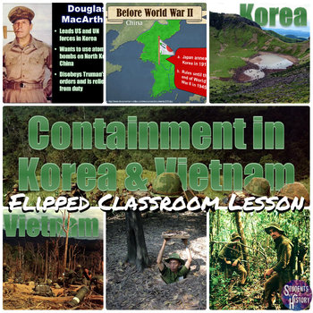 Containment the korean vietnam wars powerpoint lesson tpt containment the korean vietnam wars powerpoint lesson ccuart Images