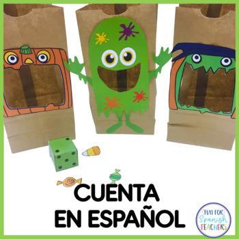 Contando Dulces con Señor Monstruo