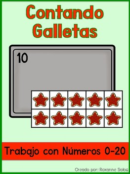 Contando Galletas- Cookie Counting Numbers 0-20