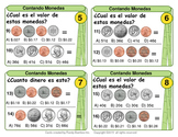 Contando Monedas (Counting Coins - Spanish Version - 100 T